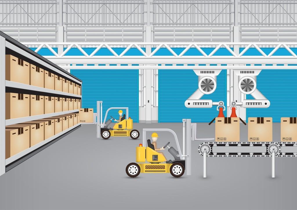automatización, integración, etiquetado, procesos logisticos, gran consumo, codigo de barras, stepforward, neteris