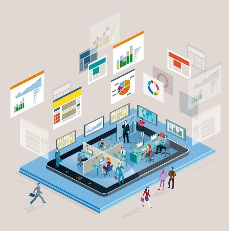 productividad, rendimiento, aplicaciones moviles, movilidad, jd edwards, erp, oracle, neteris