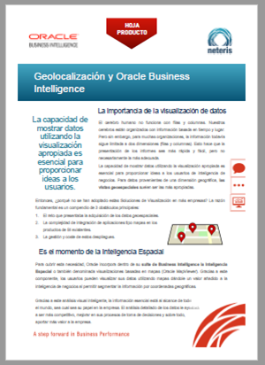 HojaProductoNeteris-INTELIGENCIA-ESPACIAL-ORACLE-BI