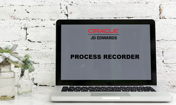 JD Edwards  - process recorder