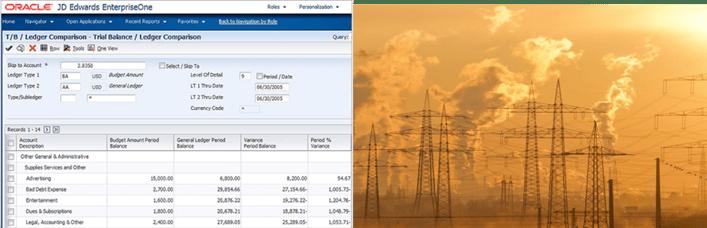 JD Edwards EnterpriseOne Environmental Accounting and Reporting