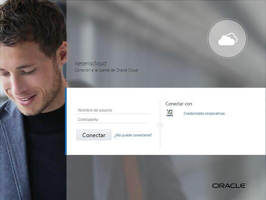 conexion oracle integration cloud