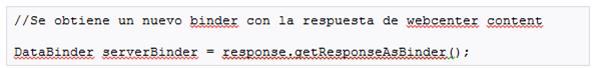 webcenter objeto databinder 2